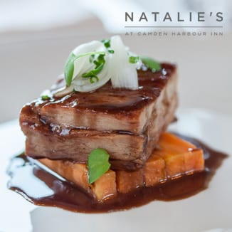 Natalie's Restaurant seasonal dish