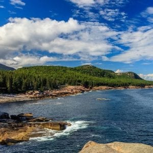 Mid coast Maine during the summer