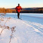 cross country skiing maine